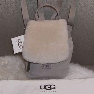 UGG shearling & Suede backpack